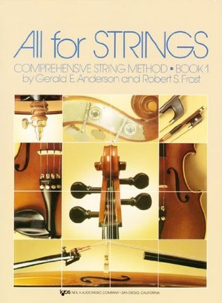 All For Strings Theory Book 1: Viola (84VA)  by  Robert S. Frost