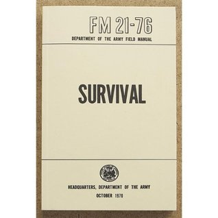 US Army Survival Field Manual FM 21-76 U.S. Army