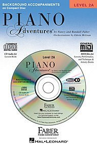 Piano Adventures, Level 2A Lesson Set (1 Book, 1 CD, Lesson Book and Lesson Book CD) Nancy Faber