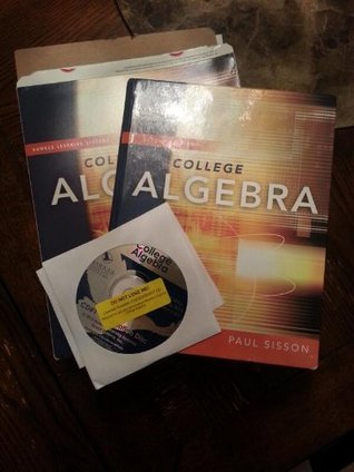 College Algebra With CD  by  Paul Sisson