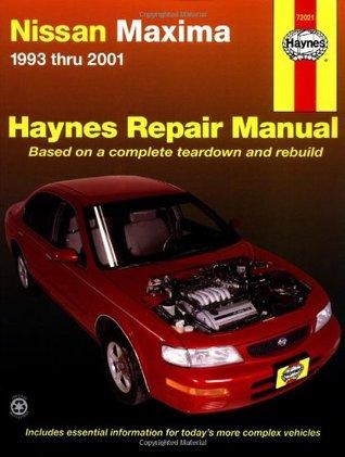 Nissan Maxima 1993 thru 2001 Chilton