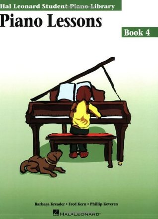 Piano Lessons, Book 4 Barbara Kreader