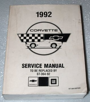 1992 Chevrolet Corvette Factory Service Manual  by  General Motors Corporation