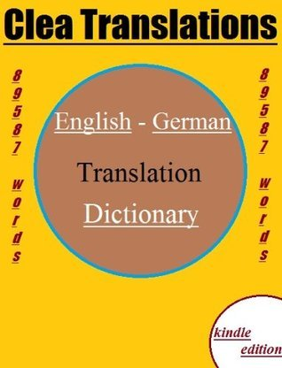 English To German Dictionary Clea Translations