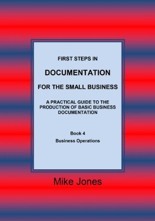 Book 4 - Business Operations Mike Jones
