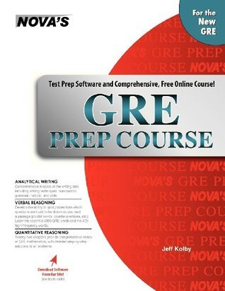 GRE Prep Course with Software and Online Course Jeff Kolby