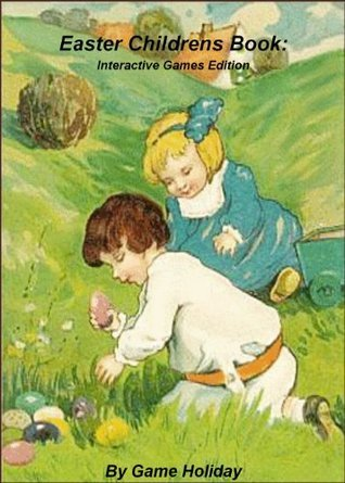 Easter Childrens Book: Interactive Games Edition Game Holiday
