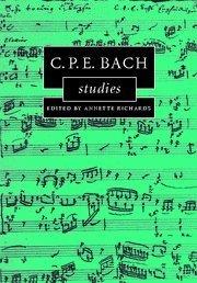 C.P.E. Bach Studies Annette Richards