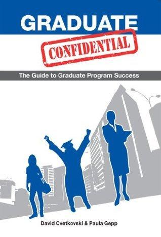 Graduate Confidential David Cvetkovski