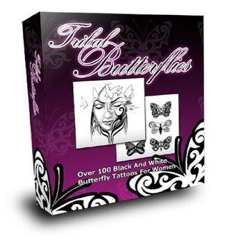 Tribal Butterflies Tattoos Jennifer Grant