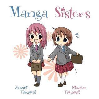 Manga Sisters (Manga University Gift Books)  by  Saori Takarai