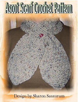 Pull Through Ascot Scarf Crochet Pattern Sharon Santorum