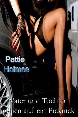 Vater und Tochter gehen auf ein Picknick Pattie Holmes