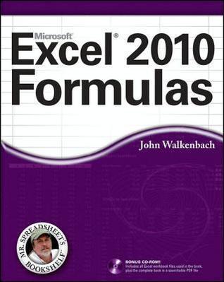 Excel 2010 Formulas John Walkenbach