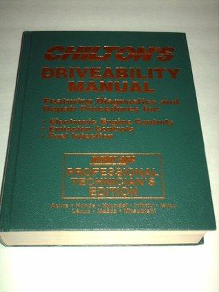 Chiltons Driveability Manual #8551: Asian A-M (Acura, Honda, Hyundai, Infiniti, Isuzu, Lexus, Mazda, & Mitsubishi) 1992-1994 (Motor Age Professional Technicians Edition) Kerry A. Freeman