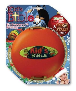 CEV Kids New Testament Audio Bible Christmas Edition: With Bonus Mp3cd Kids Bible and Bonus Once Upon a Stable DVD  by  Casscom Media
