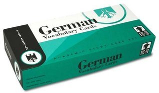 German Vocabulary Cards  by  Vis-Ed (Visual Education)