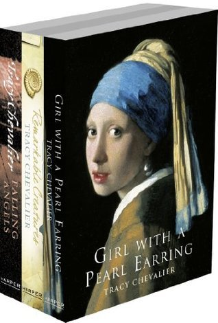 Tracy Chevalier 3-Book Collection: Girl With a Pearl Earring, Remarkable Creatures, Falling Angels Tracy Chevalier