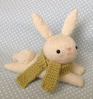 Bunny Knit Pattern Amy Gaines