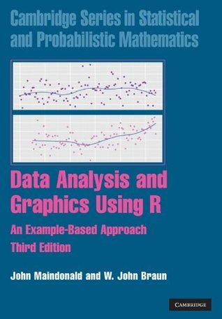 Data Analysis and Graphics Using R (Cambridge Series in Statistical and Probabilistic Mathematics, 10)  by  John Maindonald
