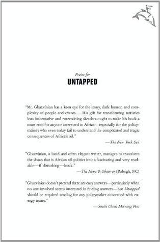 Untapped  by  John Ghazvinian
