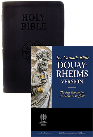 The Holy Bible Douay Rheims Version  by  Anonymous