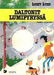 Daltonit lumipyryssä (Lucky Luke, #24)  by  Morris