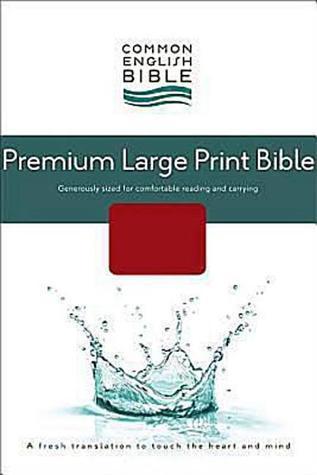 Premium Large Print Bible-CEB Common English Bible