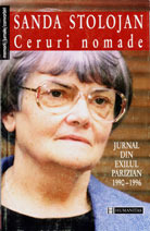 Ceruri nomade: Jurnal din exilul parizian (1990–1996) Sanda Stolojan