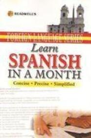 Learn Spanish in a Month or English Speaking Rekha Chawla