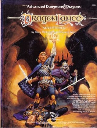 Dragonlance: Adventures (Advanced Dungeons & Dragons 1st Edition, Stock #2021) Tracy Hickman