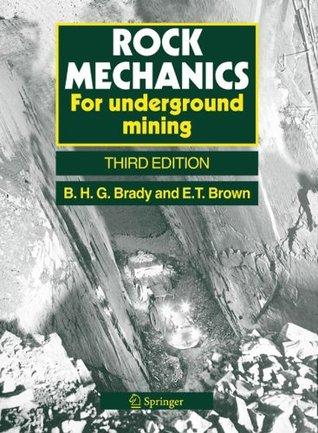Rock Mechanics Barry H.G. Brady