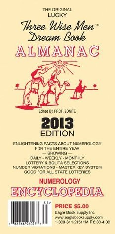 2014 The Original Lucky Three Wise Men Dream Book Almanac Eagle Book Supply Inc.
