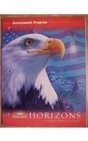 Assessment Program, Horizons United States History Harcourt School Publishers