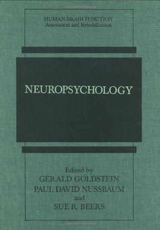 Neuropsychology  by  Gerald Goldstein