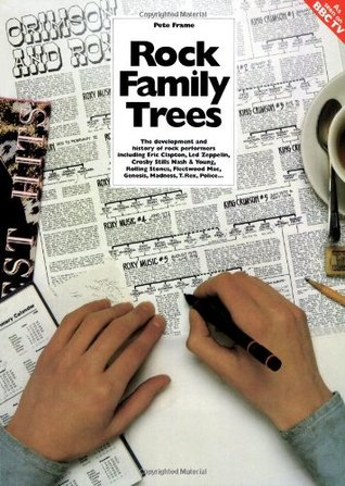 The Complete Rock Family Trees: the Development and History of Rock Performers including Eric Clapton, Crosby Stills Nash & Young, Led Zeppelin, ... Genesis, Madness, T.Rex, Police  by  Pete Frame