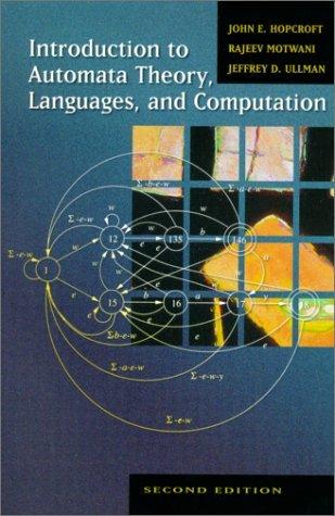 Einf. Automatentheorie  by  John E. Hopcroft