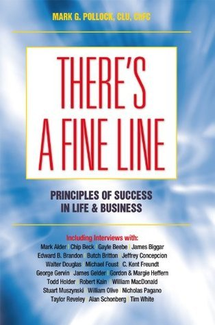 Theres A Fine Line  by  Mark G. Pollock
