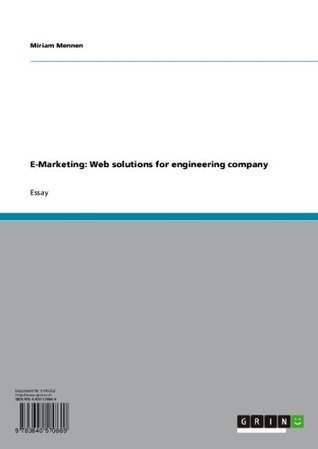 E-Marketing: Web solutions for engineering company  by  Miriam Mennen