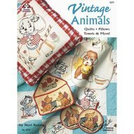 Vintage Animals: Quilts, Pillows, Towels, and More  by  Nori Koenig
