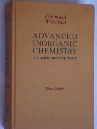 Advanced Inorganic Chemistry: A Comprehensive Text  by  F. Albert Cotton