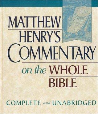 Job-Song of Solomon (Matthew Henrys Commentary, #3)  by  Matthew Henry