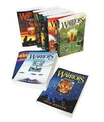 Erin Hunters Warriors Series (#1-6) : Into the Wild - Fire and Ice - Forest of Secrets - Rising Storm - A Dangerous Path - The Darkest Hour (Children Book Sets : Grade 4 and Up)  by  Erin Hunter