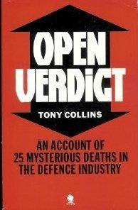Open Verdict  by  Tony Collins