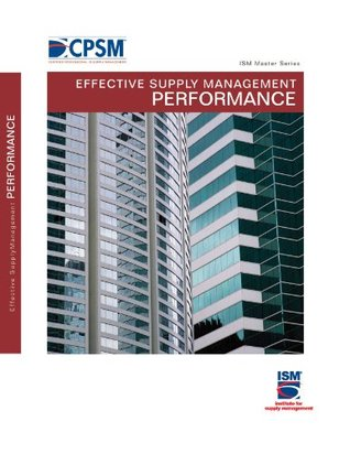 Effective Supply Management Performance Darin L. Matthews