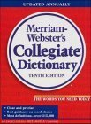 Websters Ninth New Collegiate Dictionary  by  Websters Merriam