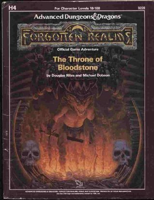 The Throne of Bloodstone  by  Douglas Niles