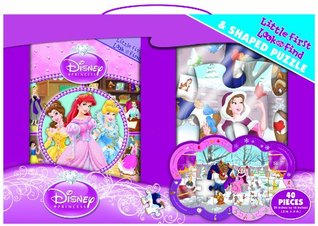 Disney Princess Little First Look and Find and Puzzle  by  Julia Lobo