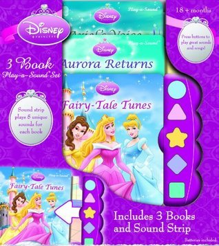 Disney Princess 3 Book Play-A-Sound Set Dana Bottenfield