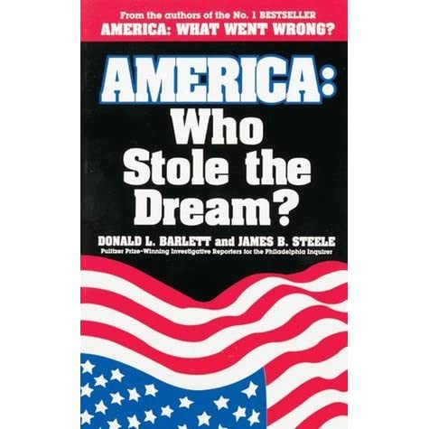 who stole the american dream thesis